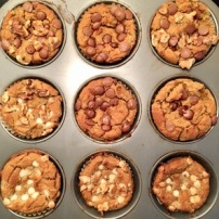 Muffins aux pois chiches